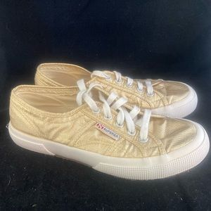 Superga Shoes - Superga Gold Lament Sneakers (6.5 see notes) 2/$30
